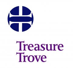 The treasure trove logo